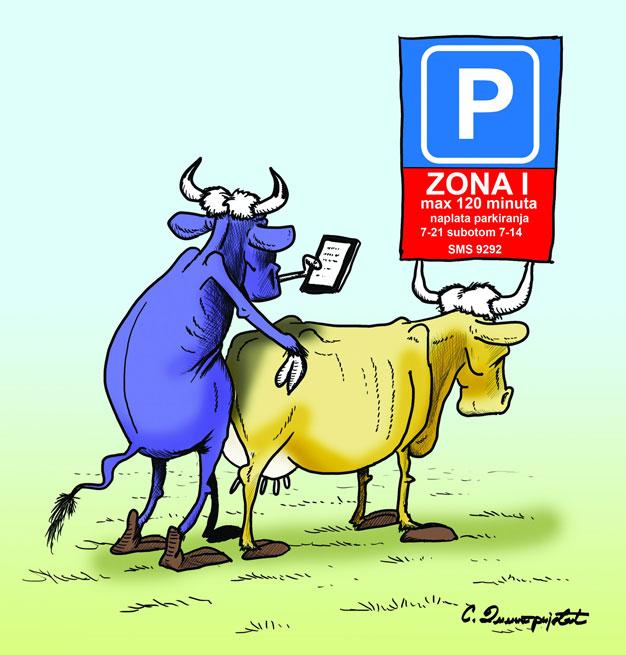 Šta nam radi JP Parking servis